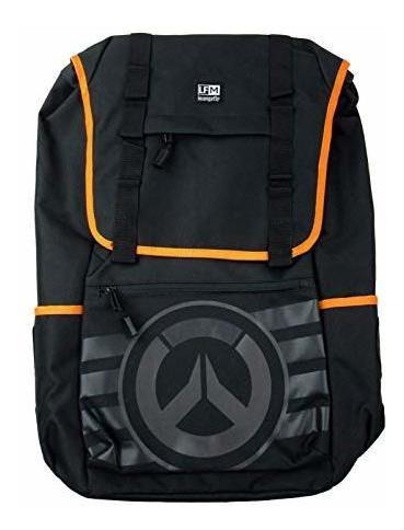 mochila con logo loungefly x overwatch (multicolor, talla ún