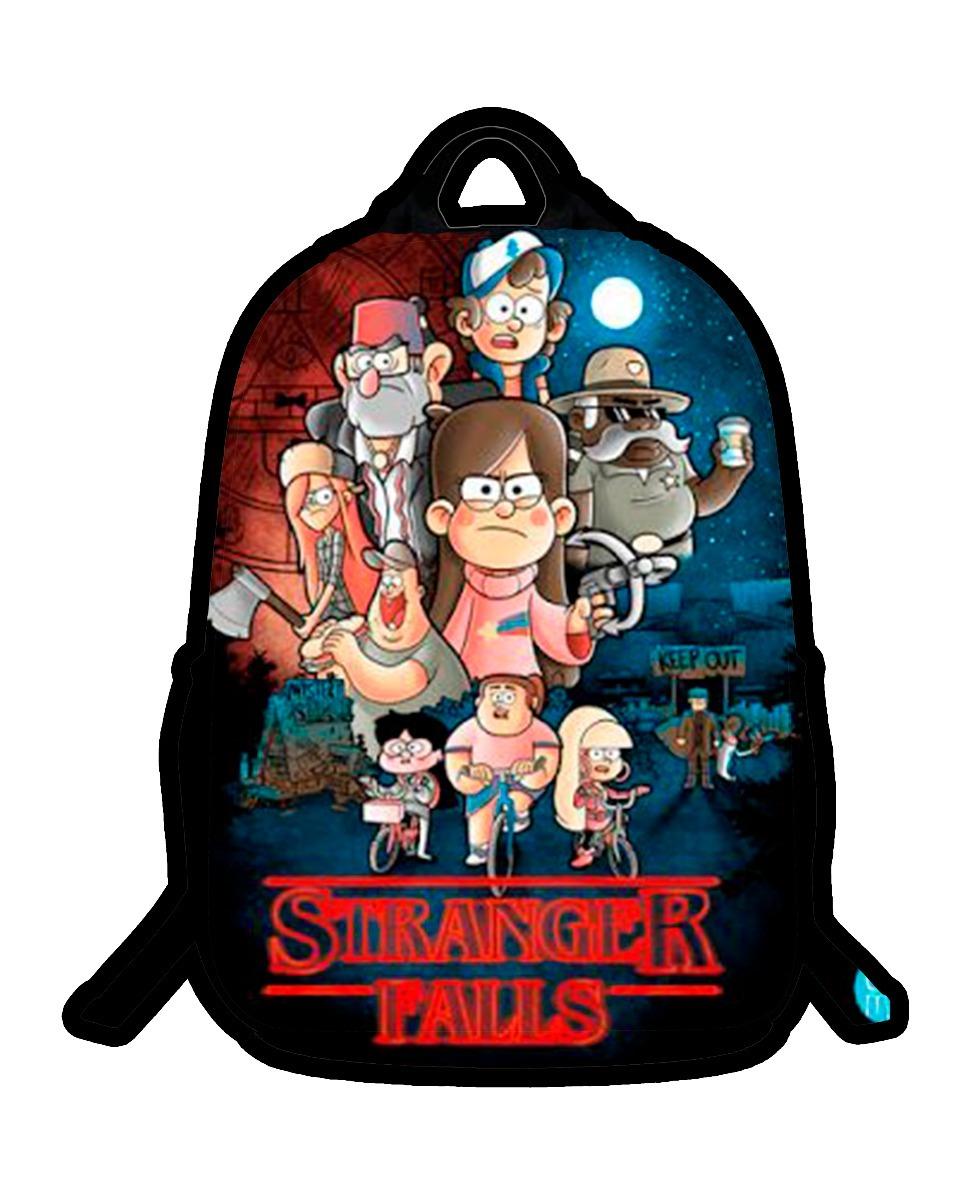 Mochila Con Luces Stranger Things Gravity Falls 50000 En