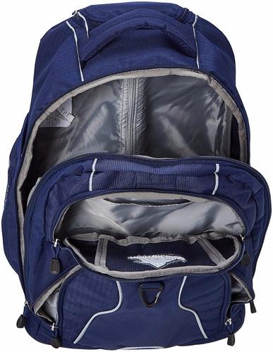 mochila con ruedas azul marino *envio gratis