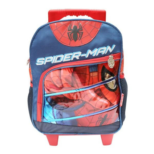 mochila con ruedas primaria ultimate spder-man marvel
