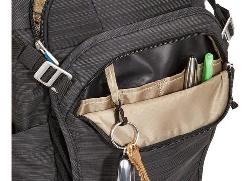 mochila construct backpack 24l black- thule