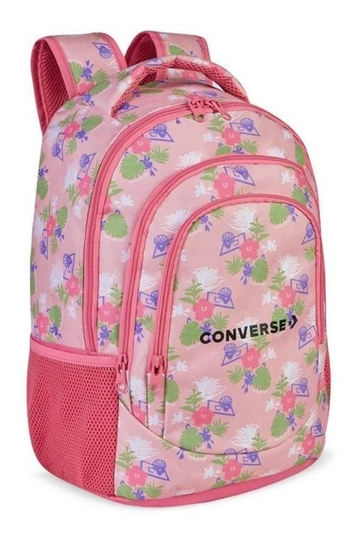 converse mujer flores