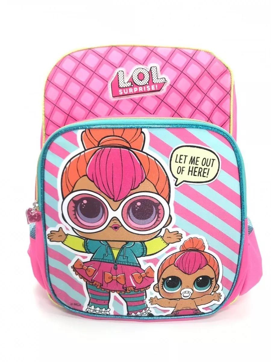 5057c30d3 Mochila Costas G Lol Surprise Pink Baby + Estojo Duplo - R$ 140,24 ...