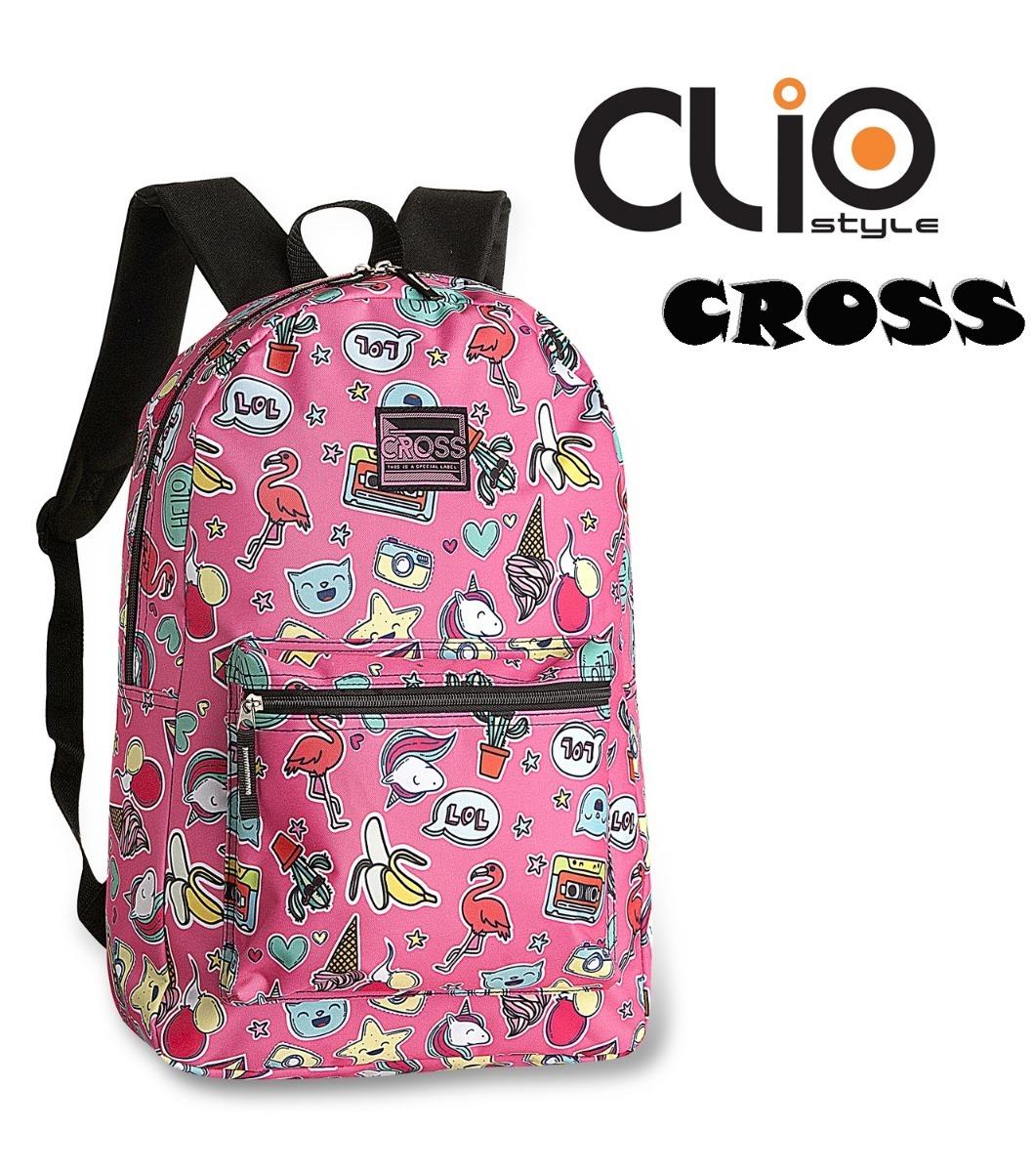3a75115c9 mochila costas infantil cross cr9303 volta as aulas 2019. Carregando zoom.