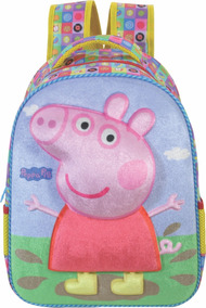 078163d81 Kit Mochila Nas Costa Peppa Pig - Mochilas no Mercado Livre Brasil