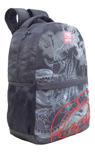 mochila costas preta ecko xeryus 9214