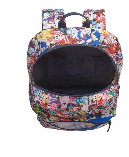 mochila costas sonic modern 7890104 - pacific
