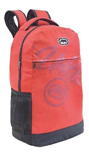 mochila costas vermelha ecko xeryus 9213