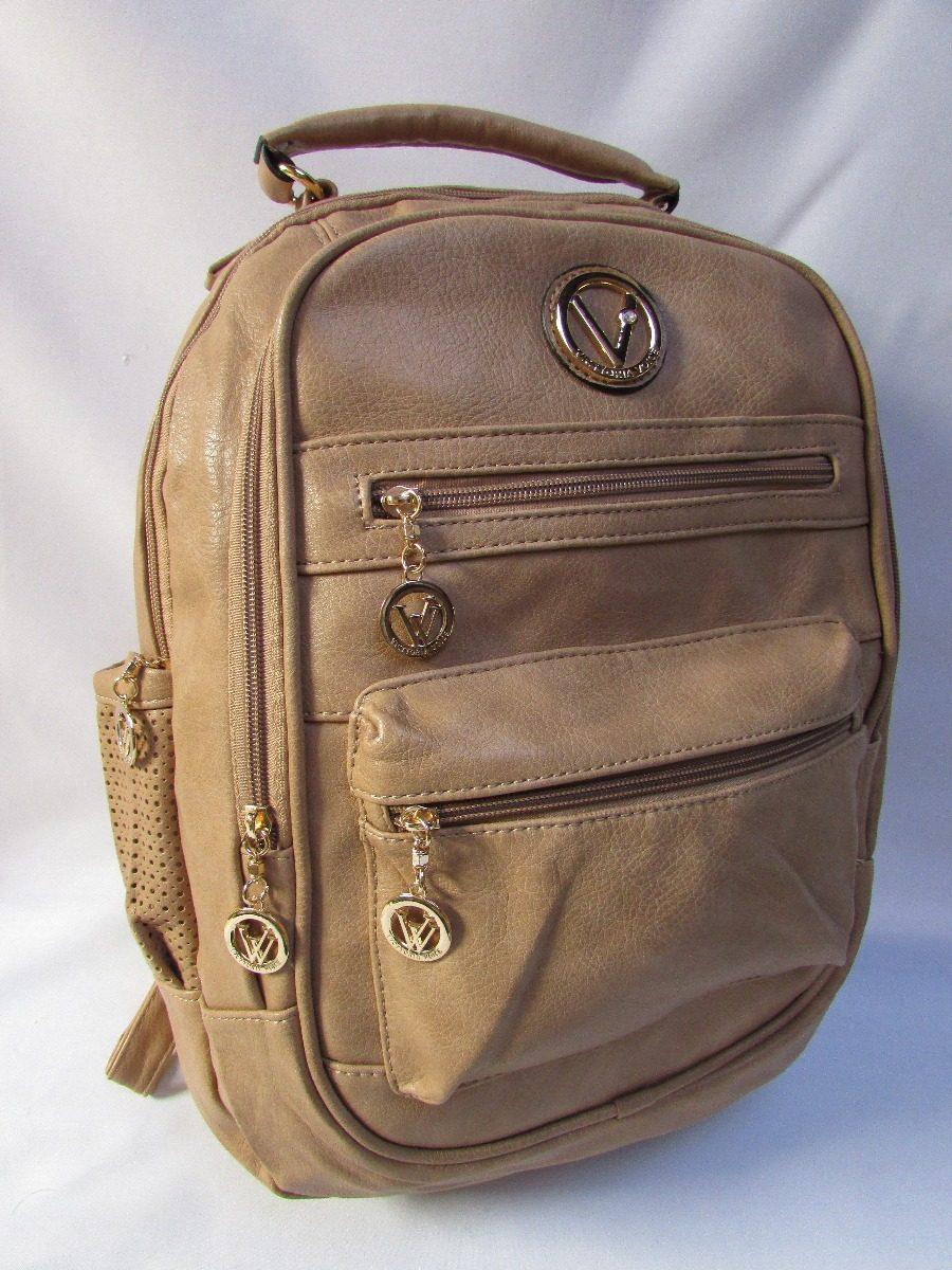 6c1a2ec6755 mochila couro ecológico macio faculdade viajem notebook. Carregando zoom.