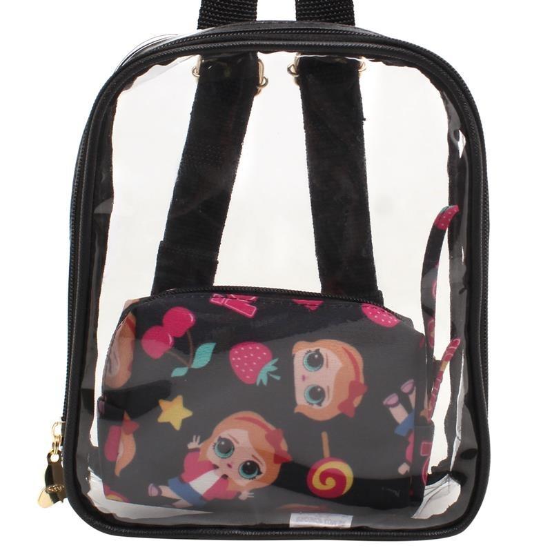 a47fec460 Mochila Cristal Lolo Lorena Queiroz 10683991 - R$ 119,96 em Mercado ...