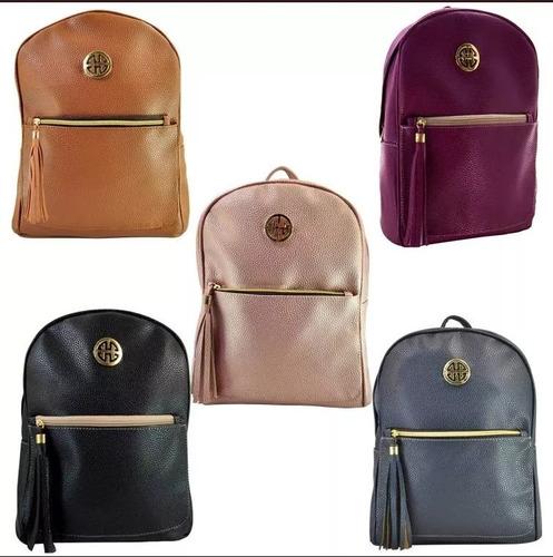 mochila d moda dama 3172 colores bolsa mujer env gratis full