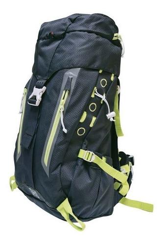 mochila de alpinismo wallis negro zongla 50 l + envio gratis