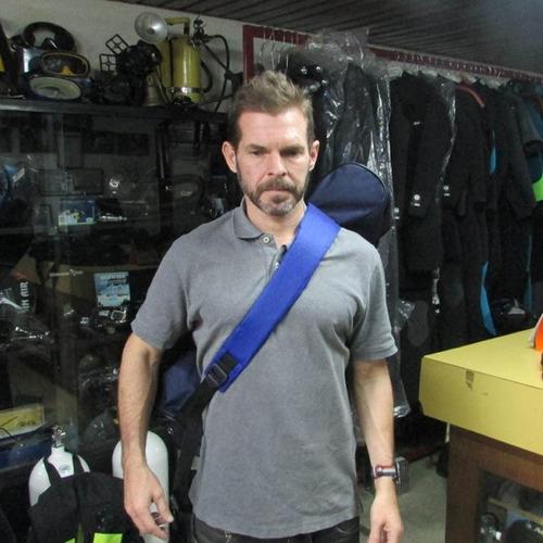 mochila de buceo profesional