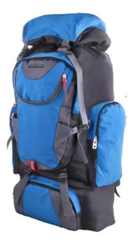 mochila de camping 80l san carlos - mundo trabajo