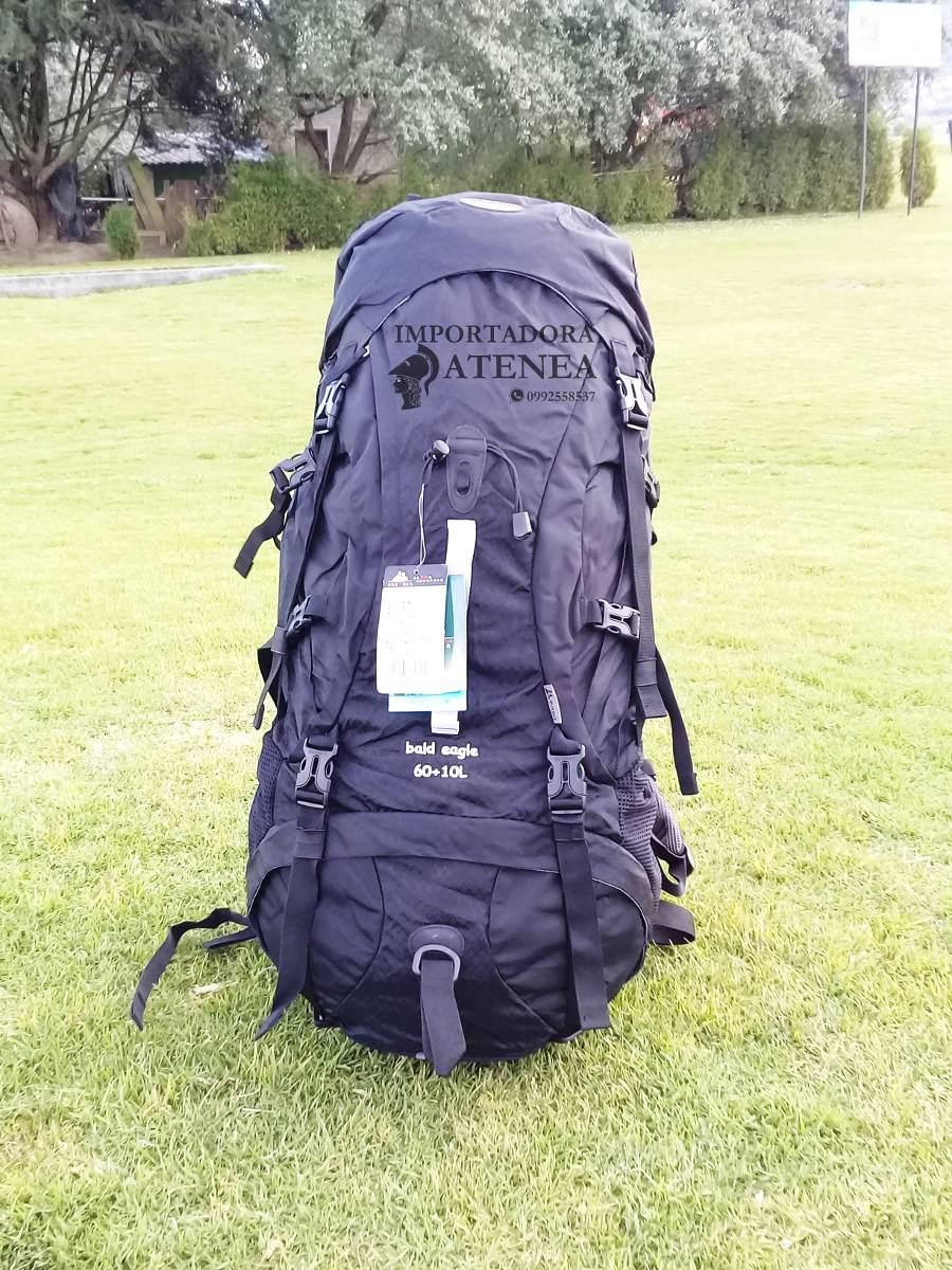 Mochila De Camping Viajes Excursiones Trekking Gama Alta 70l - U$S ...