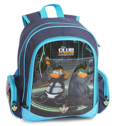 mochila de costas g disney club penguin dermiwil - 51420