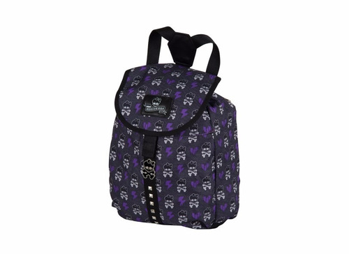 mochila de costas monster high - roxo