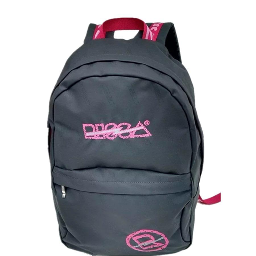 cf7148ed4 Mochila De Costas Risca Cinza/pink Original Ref. 9064 - R$ 119,99 em ...