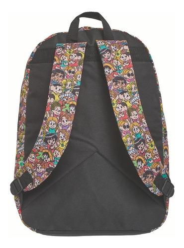 mochila de costas tm donas da rua - g