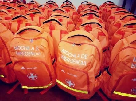 mochila de emergencia - sin equipamiento