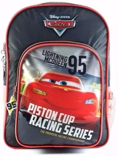 mochila de espalda cars con licencia original.