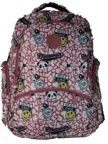 mochila de espalda con porta notebook 47 street q47-64