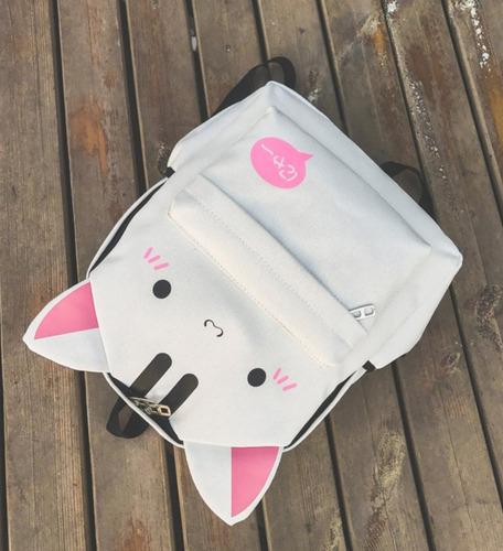mochila de gato o conejo