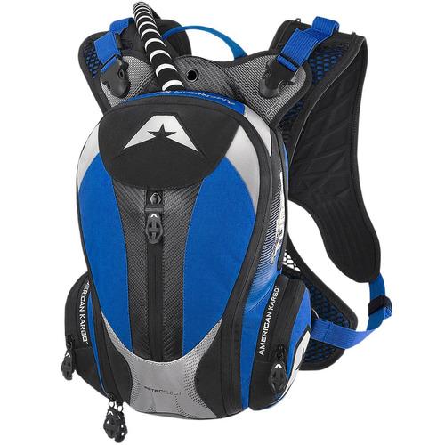 mochila de hidratación american kargo turbo 2l azul