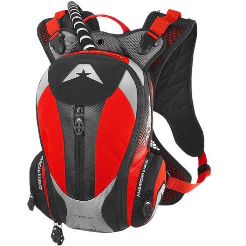 mochila de hidratación american kargo turbo 2l red