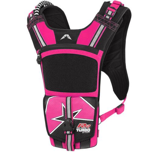mochila de hidratación american kargo turbo 2l rosa rr