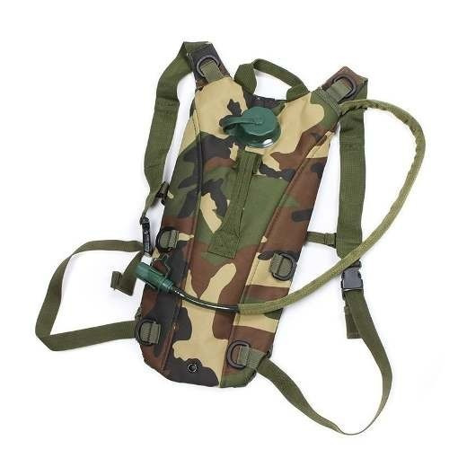 mochila de hidratação tipo camelbak camuflada c/ refil !!!