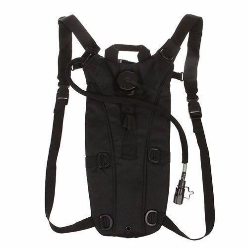 mochila de hidratação tipo camelbak preto