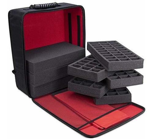 mochila de juego de mesa guardian   maletin portatil de lujo