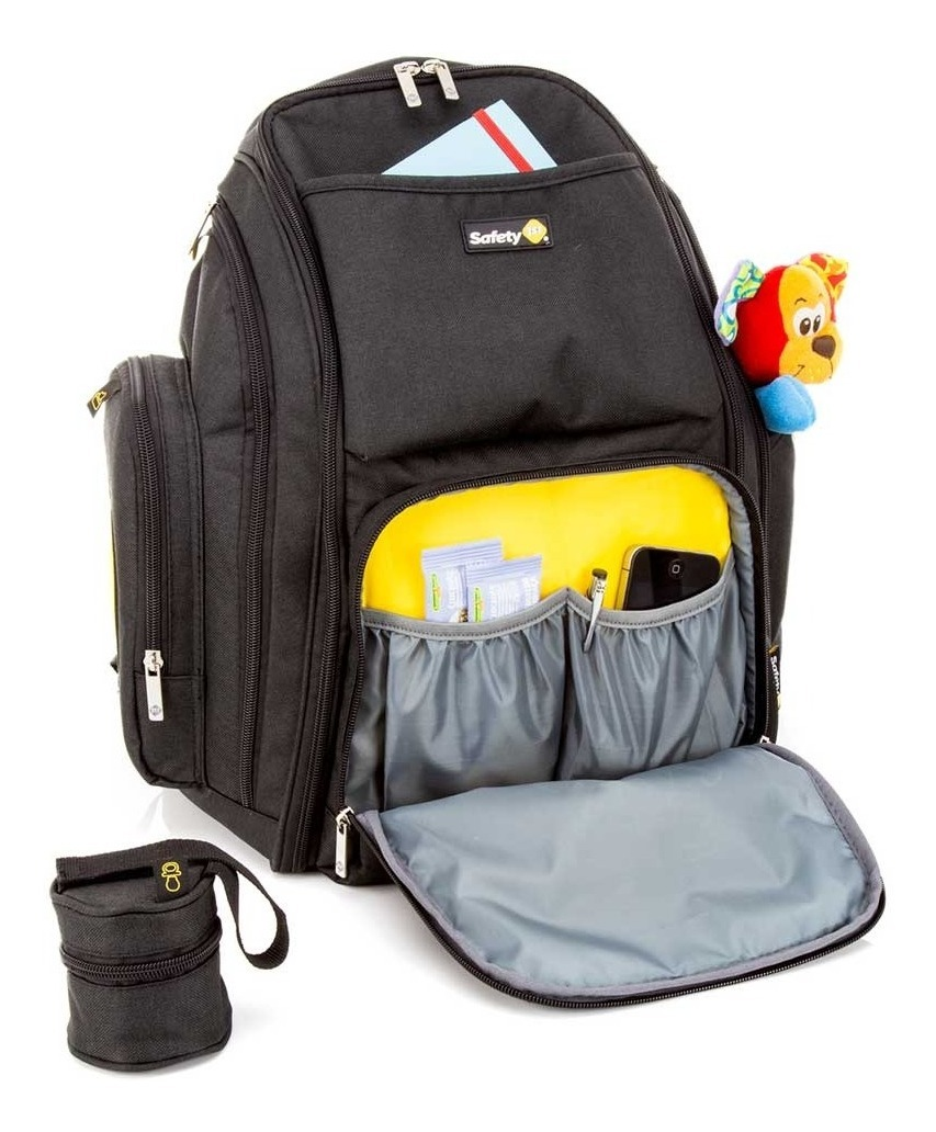 Safety De 1st21ltsBlack Mochila Maternidade Back'pack rCexdBo