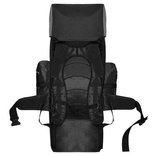 mochila de mochilero camping 70 lts espalda acolchonada