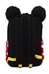 mochila de nylon cuadrada loungefly minnie mouse cosplay