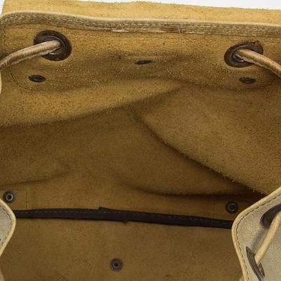 mochila de piel marca vanguardia mod. free hombre taupe