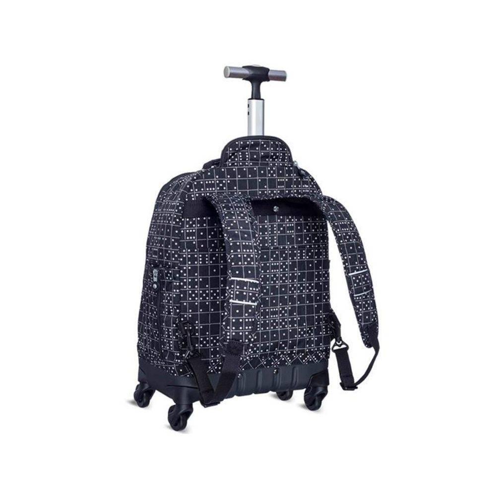 af39fa295 mochila de rodinha kipling - echo black matrice [promoção]. Carregando zoom.