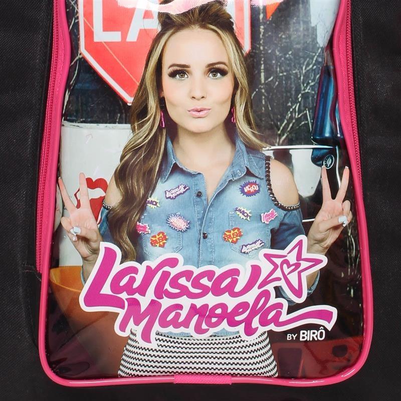 Mochila De Rodinha Larissa Manoela 10270010 - R  74,99 em Mercado Livre 4d901def55