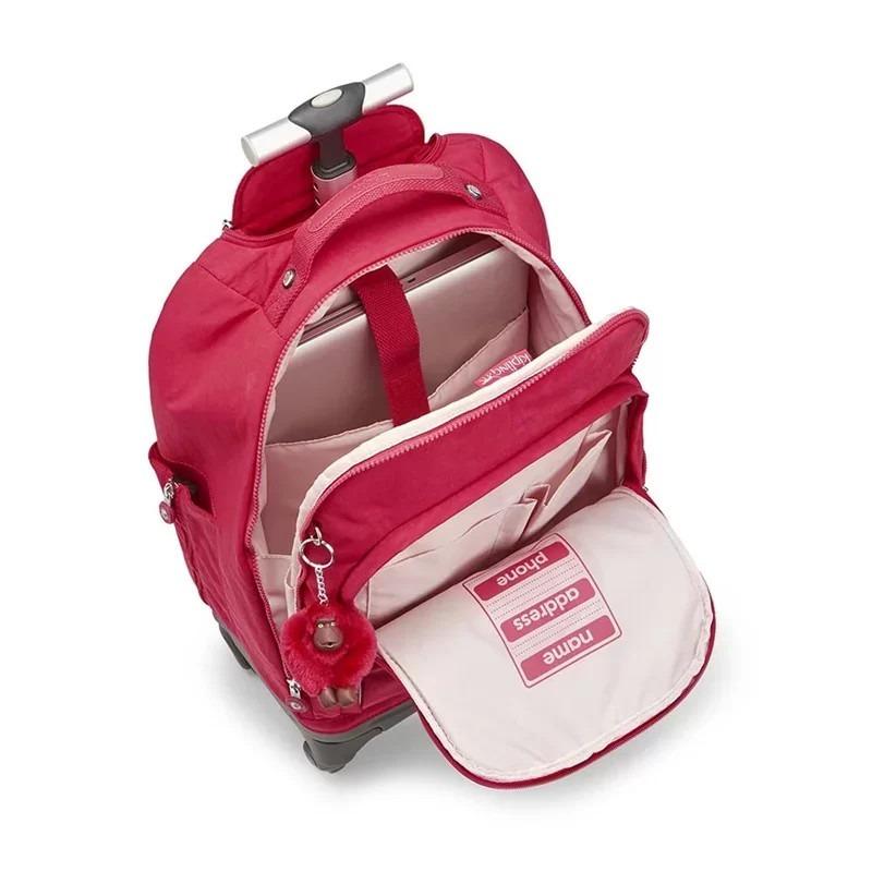 e011246b4 Mochila De Rodinhas Kipling Echo- True Pink - R$ 1.199,00 em Mercado ...