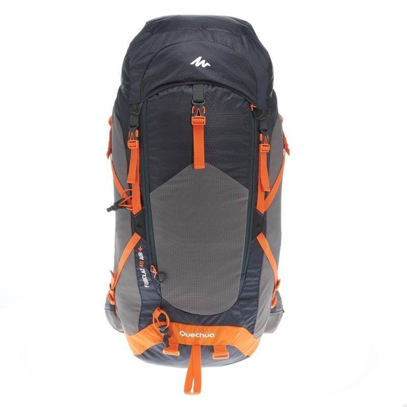 ca24efd8b mochila de senderismo mh500 40 litros negro naranja. Cargando zoom.