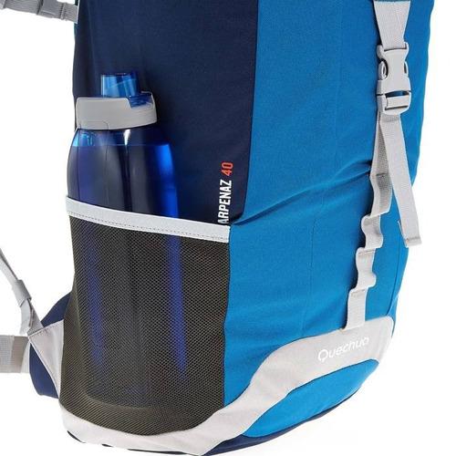 mochila de trilha arpenaz 40 litros quechua