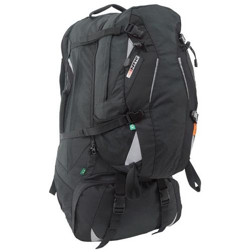 mochila de viagem com daypack 55 +15 litros nautika yukon