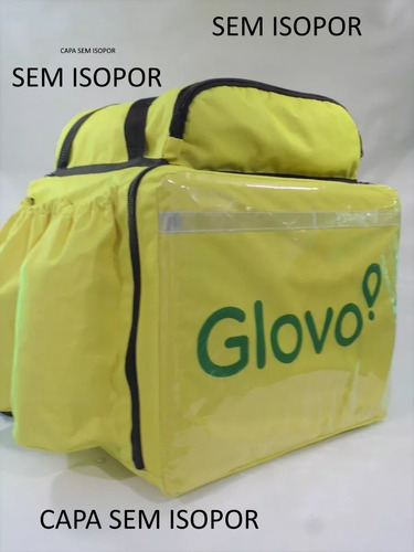 mochila delivery motoboy - glovo (uber rappi ifood james)