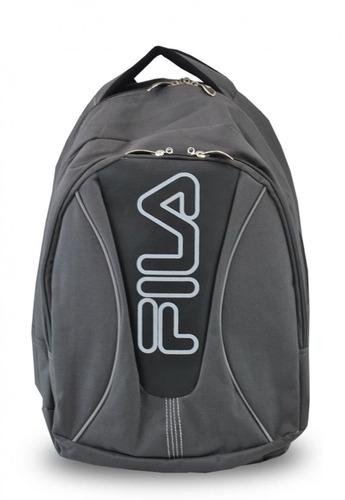mochila deportiva gris fila