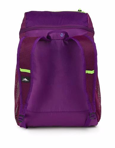 mochila deportiva morada *envio gratis