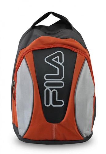 mochila deportiva naranjo fila