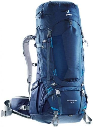 mochila deuter aircontact pro 70+15 + mochila de ataque