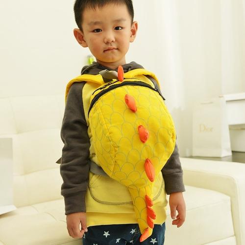 mochila dinosaurio niños preescolar bolso unisex cute bolsa