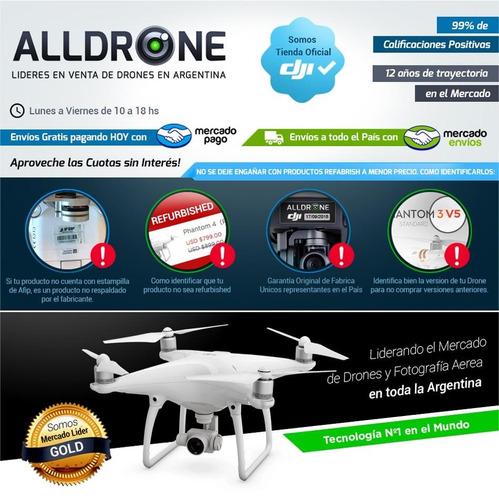 mochila drone dji phanton 3 4 4 pro pro+ proteccion bolso